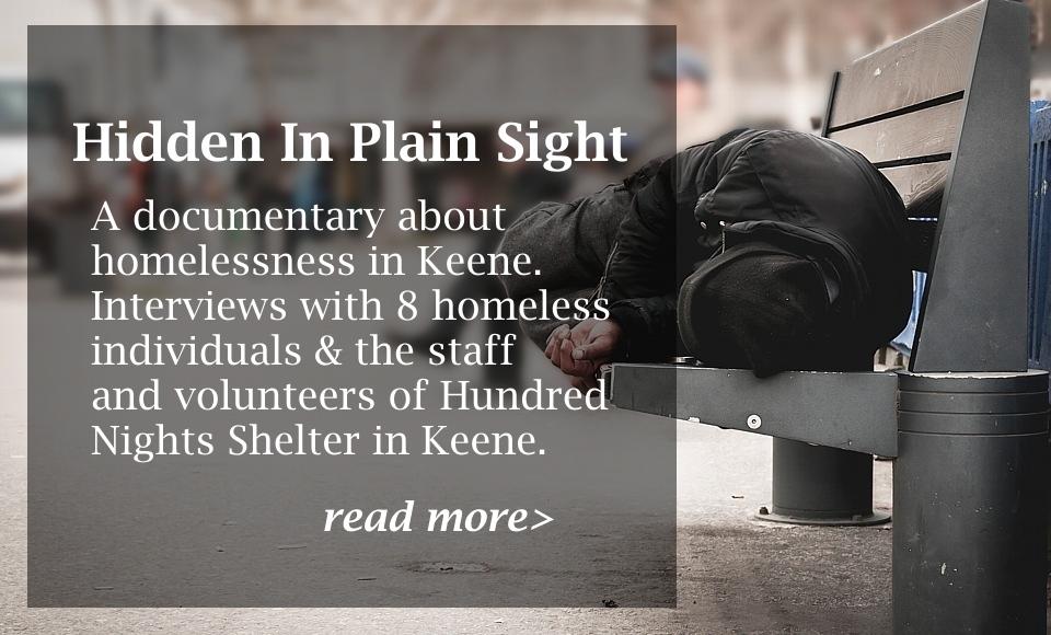 Hidden in Plain Sight - Homelessness in Keene, NH